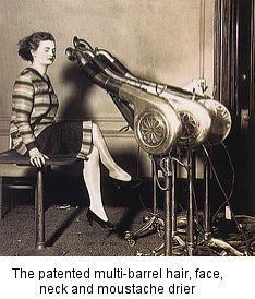 steampunk hairdrier