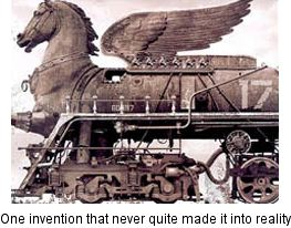 horse locomotive